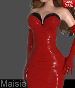 Vavoom for Red Hot Clothes 3D Figure Assets lululee