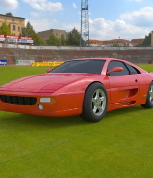 Ferrari Testarossa 1992 - Extended License 3D Game Models : OBJ : FBX 3D Models Extended Licenses Digimation_ModelBank