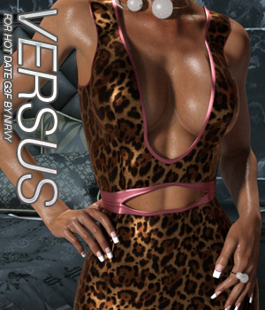 VERSUS - Hot Date G3F 3D Figure Assets Anagord