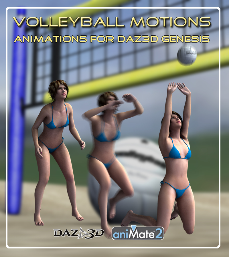 Volleyball Motions for Genesis