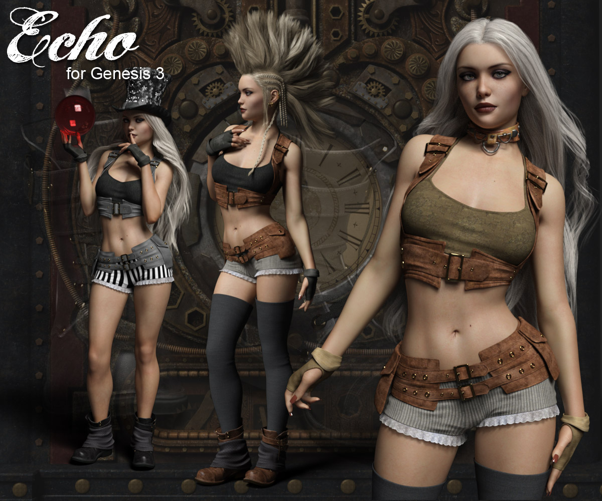 Echo Outfit for the Genesis 3 Female
