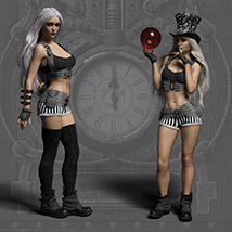 Echo Outfit for the Genesis 3 Female image 4
