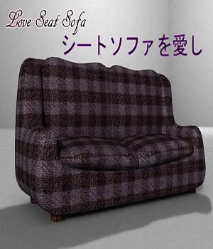 Love Seat Sofa 3D Models newhere