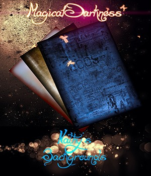 Magical Darkness Backgrounds 2D Graphics Nathalie_