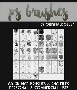PS Brushes: Grunge 2D Graphics Merchant Resources MarieMcKennaDesigns