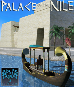 Palace of the Nile 3D Models BlueTreeStudio