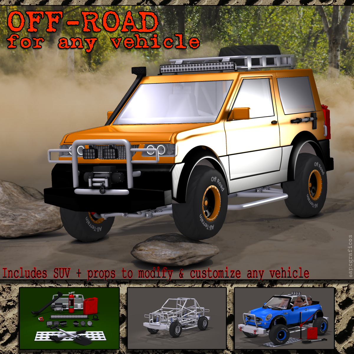 Off-road for any vehicle