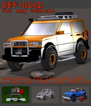 Off-road for any vehicle 3D Models apcgraficos
