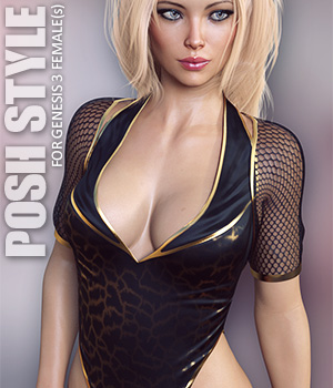 Posh Style for Genesis 3 Females 3D Figure Assets lilflame