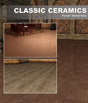 Poser - Classic Ceramics 2D Graphics Merchant Resources Atenais