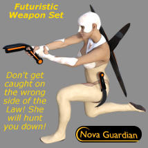 NOVA GUARDIAN Weapon Set - Extended License image 1
