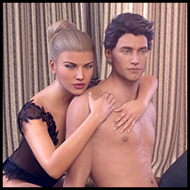 Z Real Love - Poses for Genesis 3 Male and Female and Michael and Victoria 7 image 1