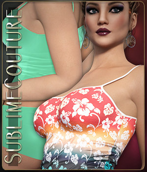 Sublime Couture: Simply Sexy for Genesis 3 Female  3D Figure Assets 3DSublimeProductions