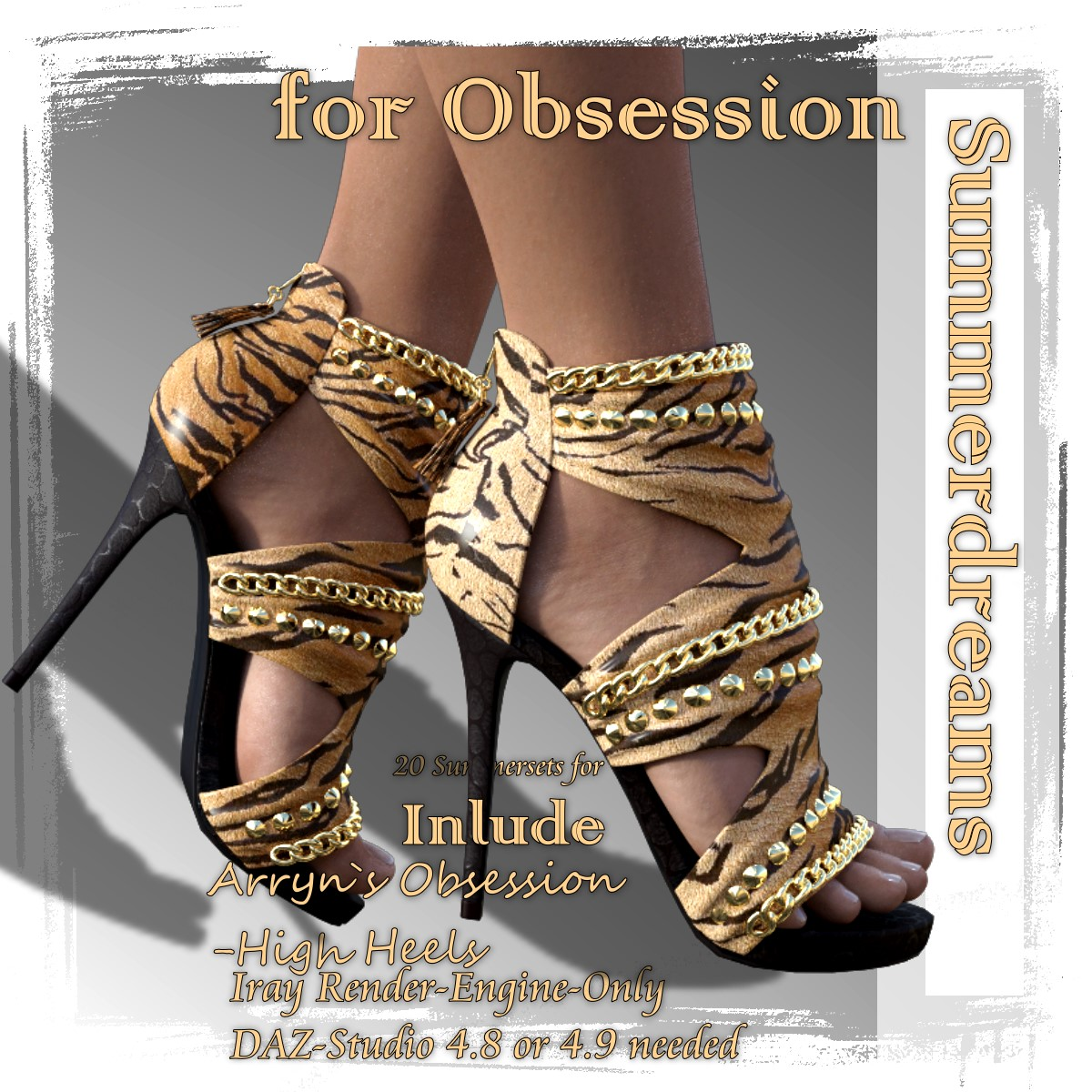 Summerdreams - for Obsession High-Heels