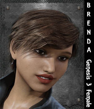 Brenda for Genesis 3 Female 3D Figure Assets aeris19