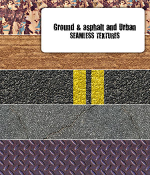 Ground, Asphalt and Urban Grunge - Seamless texture 2D Graphics Merchant Resources romawka