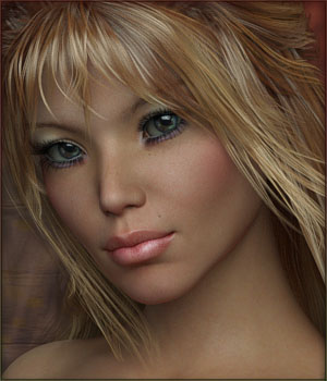 TDT-Gigi for Genesis 3 Female 3D Figure Assets Deva3D