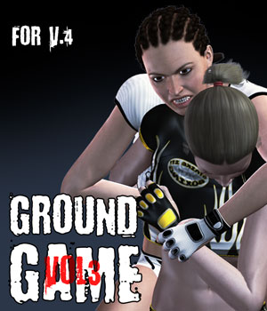 Ground Game vol.3 for V4 3D Figure Assets PainMD