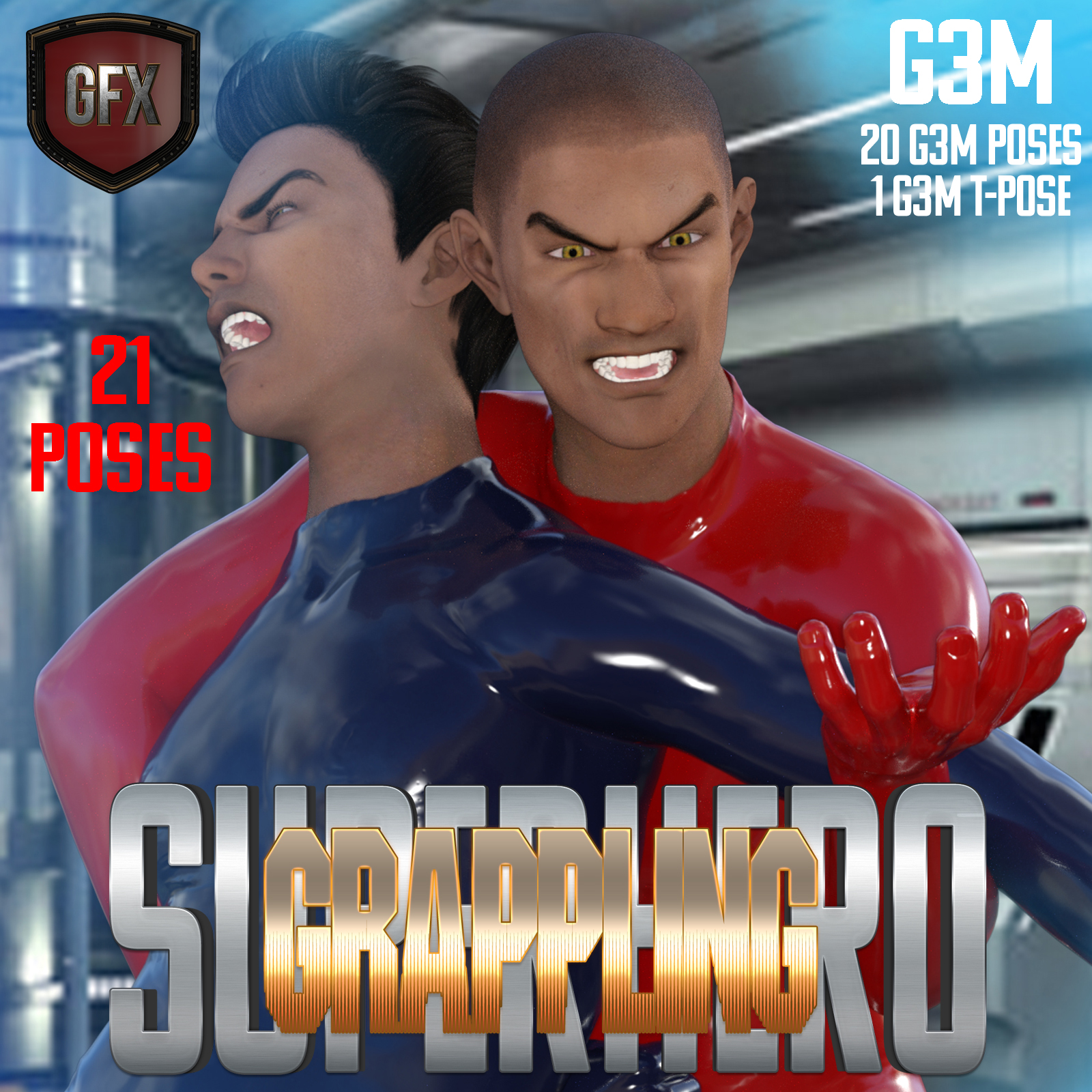 SuperHero Grappling for G3M Volume 1 by GriffinFX