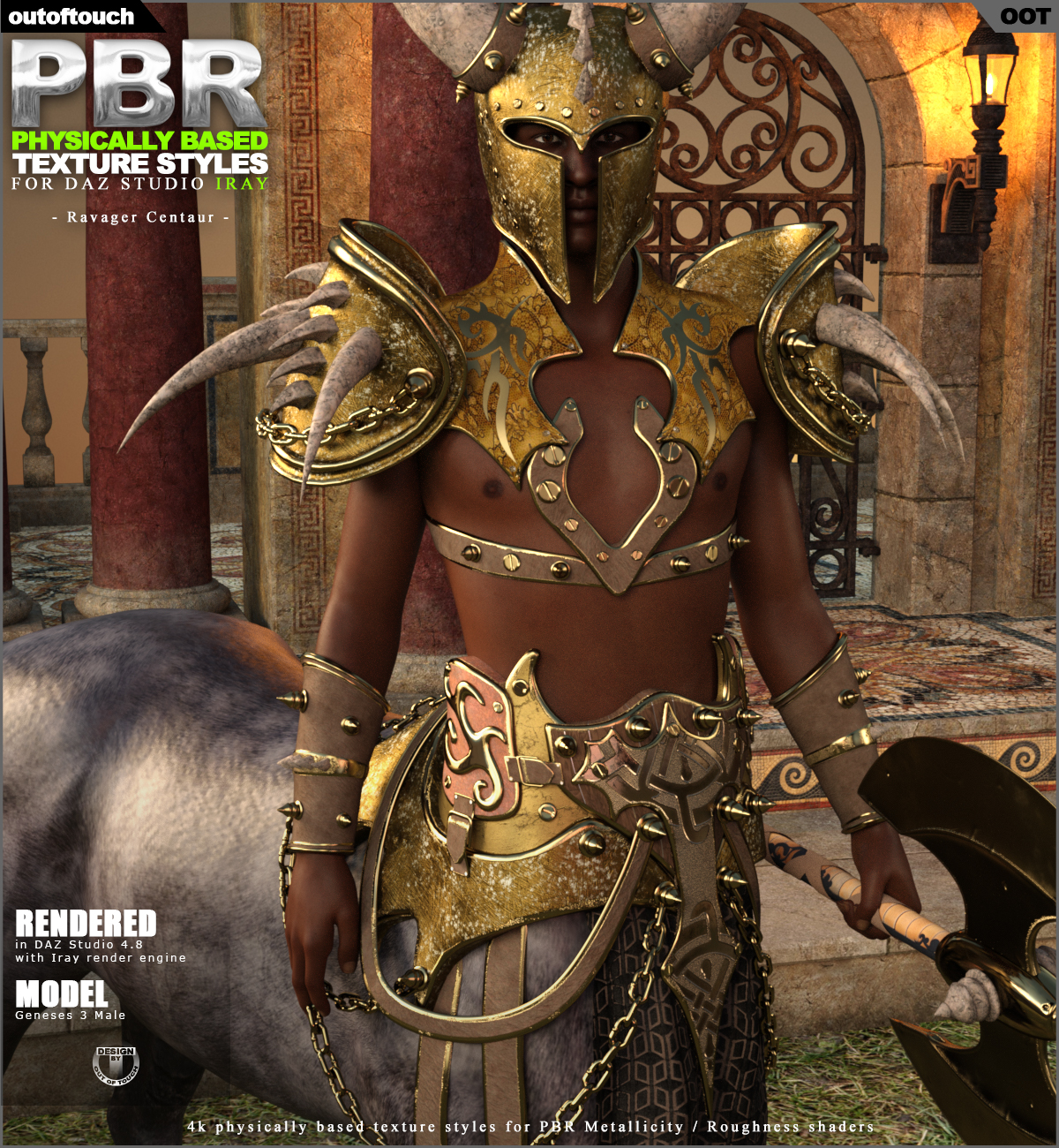 OOT PBR Texture Styles For Ravager Centaur