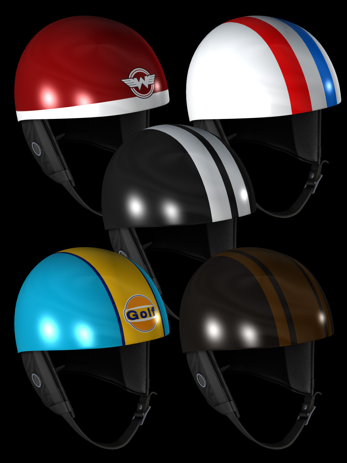 Cafe Racer Half Helmet Previous Next