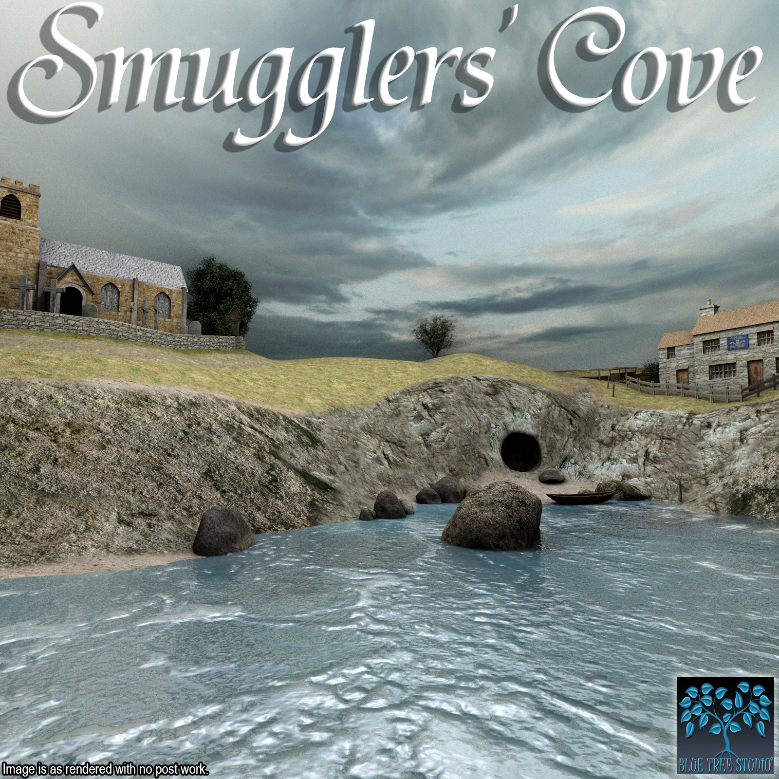 Smugglers' Cove by BlueTreeStudio