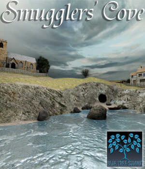 Smugglers' Cove 3D Models BlueTreeStudio