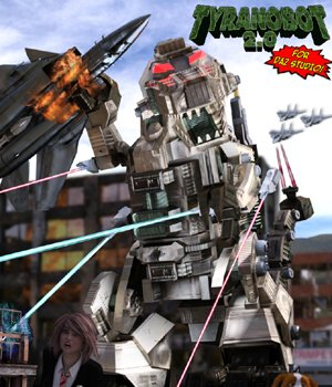 TyranoBot 2.0 - for DAZ Studio  3D Models VanishingPoint