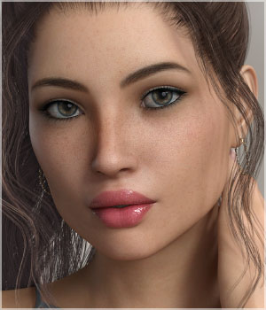 FWSA Makena for Victoria 7 and Genesis 3 3D Figure Assets Sabby