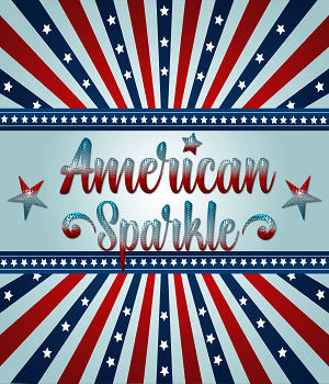American Sparkle PS Layer Styles 2D Graphics Merchant Resources fractalartist01