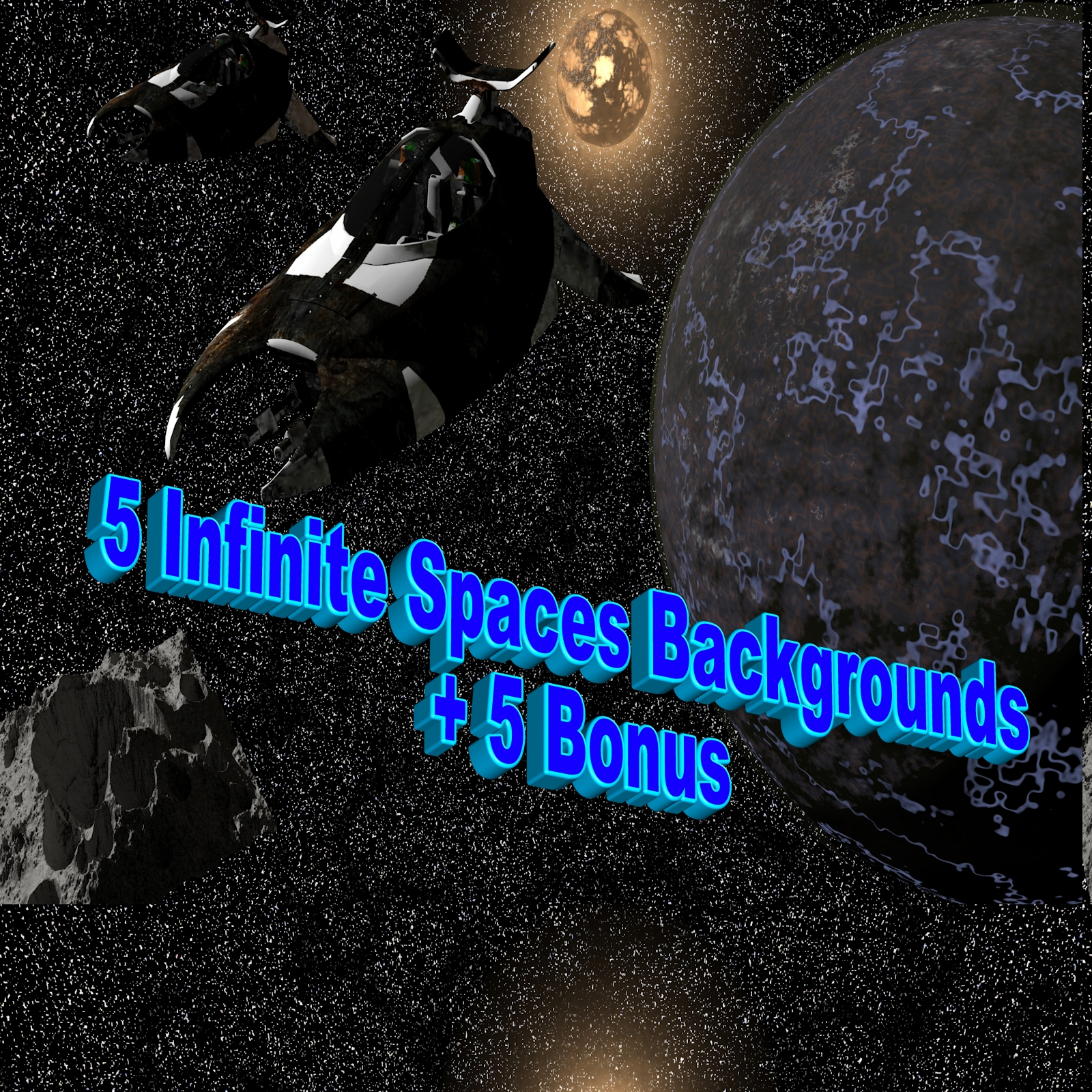 5 Infinite Space Backgrounds