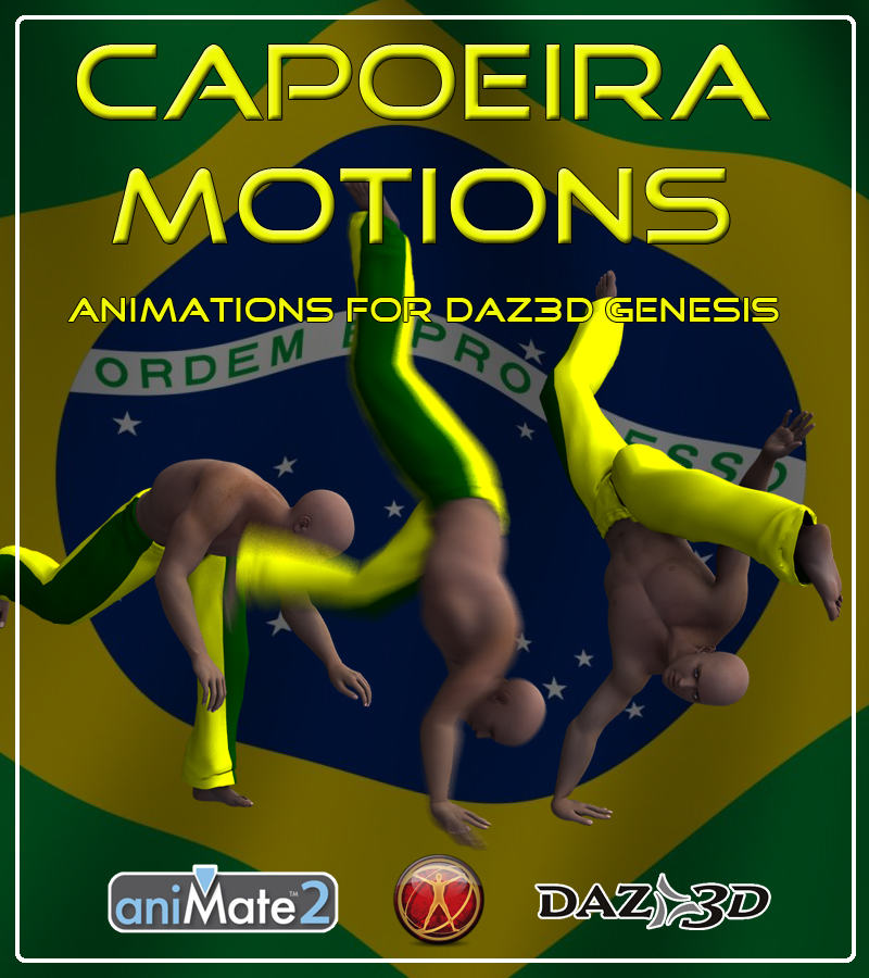 Capoeira Motions for Genesis by AnyMatter