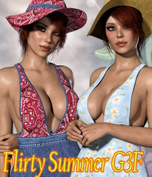 Flirty Summer G3F by kaleya