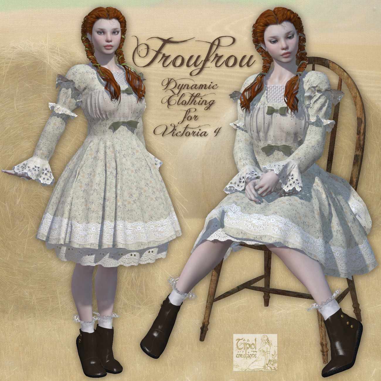 Froufrou_Dynamic Clothing for Victoria 4