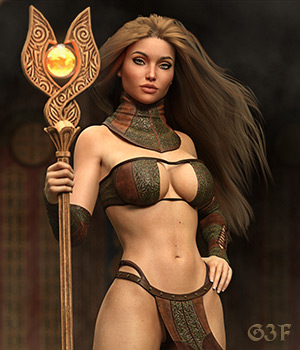 DMs Summoner - Genesis 3F 3D Figure Assets DM