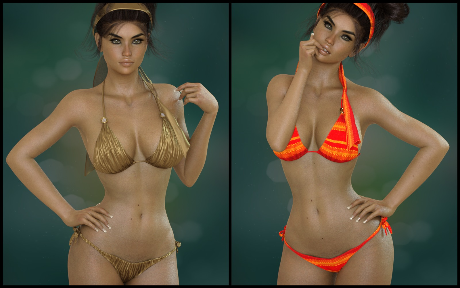 7th Ave: X-Fashion Bohemian Bikini
