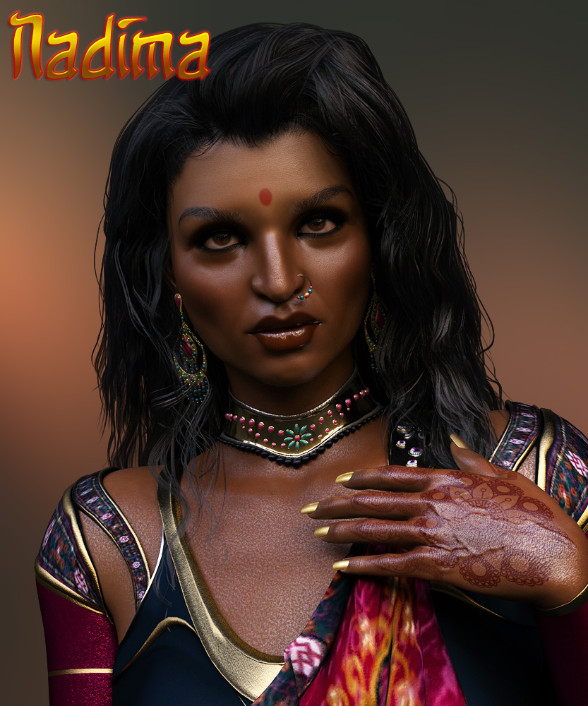 Nadima for Genesis 3 Female