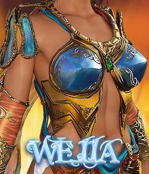 Weiia Legacy for G3 females 3D Figure Assets powerage