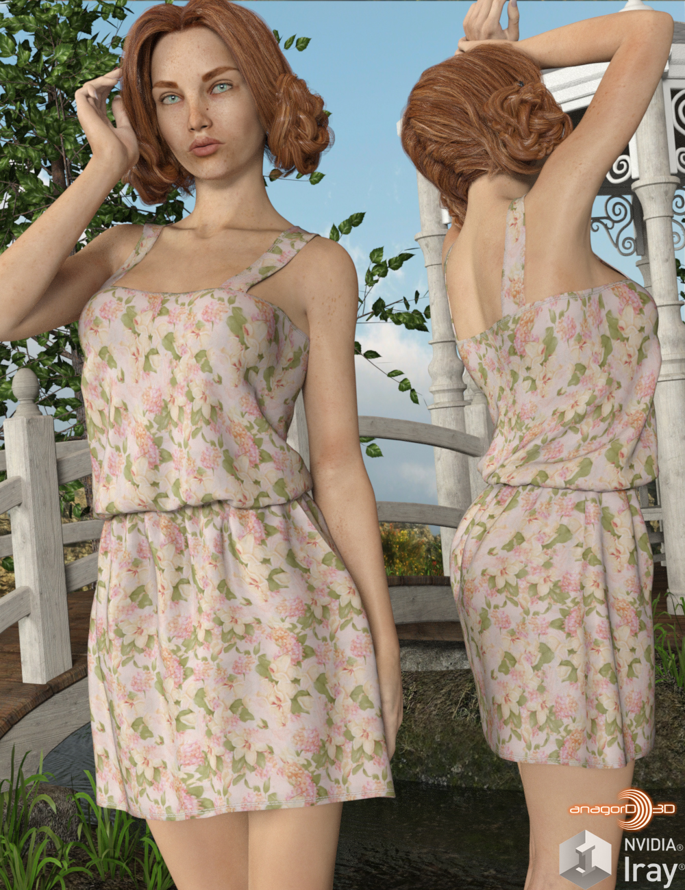 VERSUS - Rustic Country Dress for G3F