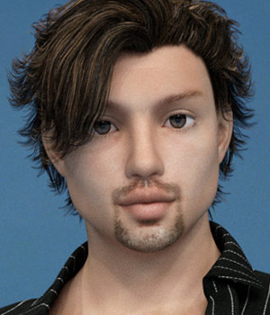 3DSSilver Dollz :: Kaide Genesis 3 Male 3D Figure Assets 3DSublimeProductions