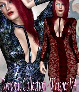 Dynamic Collection - Whisper V4 3D Figure Assets kaleya