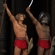 Gladiator for Genesis 3 Male and Female image 1