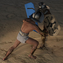 Gladiator for Genesis 3 Male and Female image 2