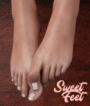 Sweet Feet for G3F 3D Figure Assets AliveSheCried