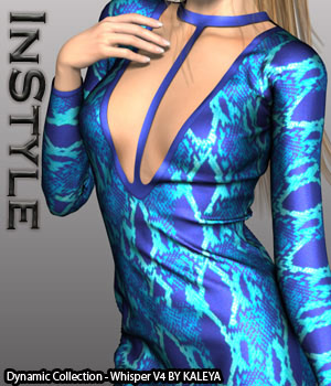 InStyle - Dynamic Collection - Whisper V4 3D Figure Assets -Valkyrie-