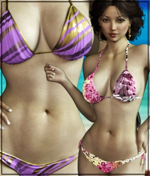 7th Ave: Hot Summer 2017 for G3 females 3D Figure Assets 3-DArena