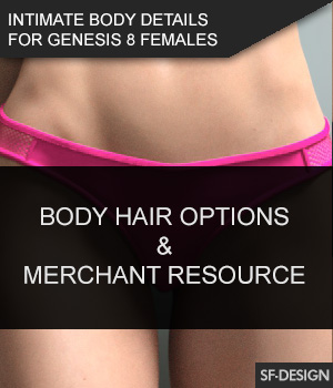 Intimate Body Details for Genesis 8 Females and MR 3D Figure Assets Merchant Resources SF-Design