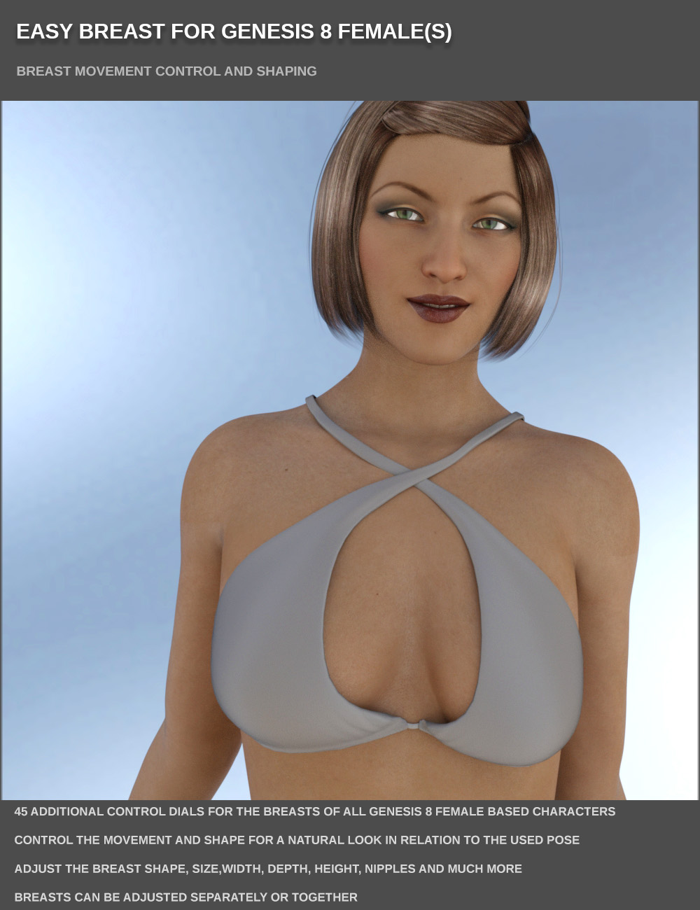 EASY BREAST FOR GENESIS 8 FEMALES