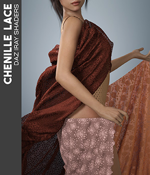Daz Iray - Chenille Lace 2D Graphics Merchant Resources Atenais