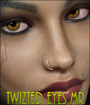 Twizted Eyes Genesis 8 MR Merchant Resources TwiztedMetal